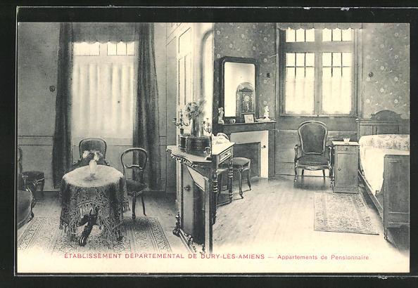 AK Dury-les-Amiens, Etablissement Departemental - Appartements de Pensionnaire