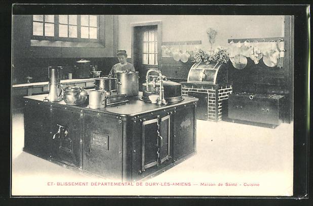 AK Dury-les-Amiens, Etablissement Departemental - Maison de Santè, Cuisine