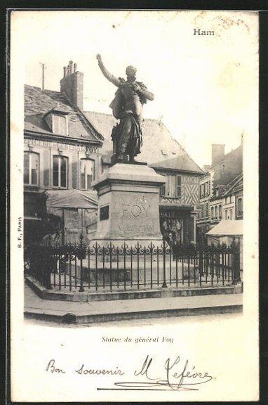 AK Ham, Statue du General Foy 0