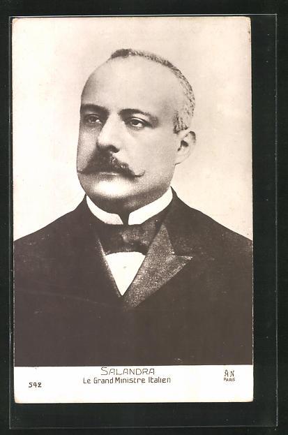 AK Le Grand Ministre Italien Salandra