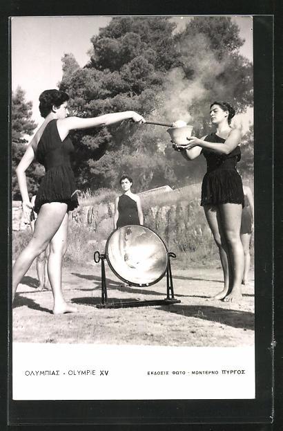 AK Helsinki, XV. Olympiade 1952, Eröffnungs-Zeremonie