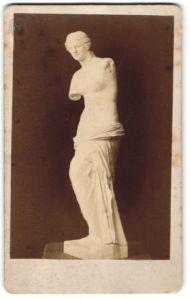Fotografie Fotograf unbekannt, Ansicht Paris, Statue von Alexandros von Antiochia Venus von Milo im Pariser Louvre