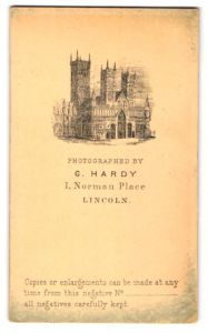 Fotografie G. Hardy, Lincoln, Ansicht Lincoln, Kathedrale zu Lincoln