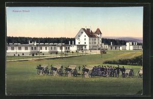AK Bülach, Kaserne mit Kanonieren