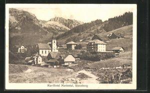 AK Sörenberg, Kur-Hotel Mariental mit Kirche