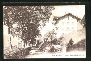 AK Huemoz s. Olion, La Cure et l`Eglise
