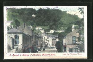 AK Matlock Bath, S. Parade & Heights of Abraham