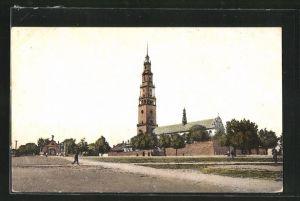 AK Tschenstochau-Czestochowa, Klasztór Ogólny Widok, Kloster