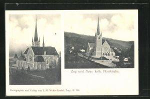 AK Zug, Neue katholische Pfarrkirche