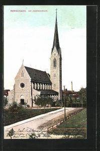 AK Rorschach, Blick auf die Jugendkirche