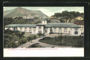 AK Kantabrien, Balneario de Solares, Exterior de la Galeria de Banos