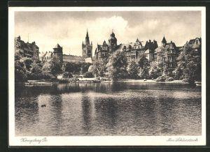 AK Königsberg, Ausblick vom Schlossteich