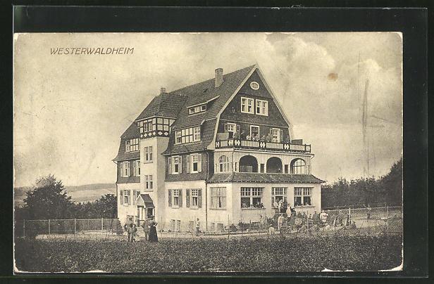 AK Altenkirchen, Partie am Westerwaldheim 0