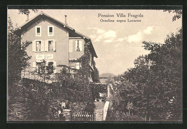 AK Orselina, Pension Villa Fragola
