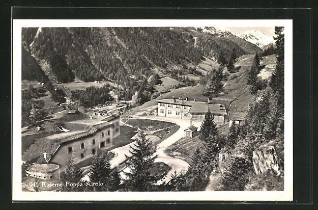 AK Airolo, Kaserne Foppa-Airolo