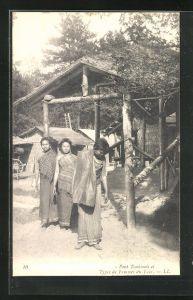 AK Pont Tonkinois, Types de Femmes du Laos