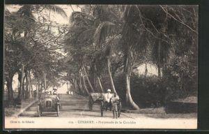 AK Conakry, Promenade de la Corniche