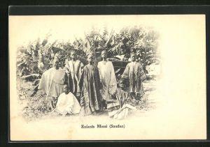 AK Soudan, Enfants Mossi