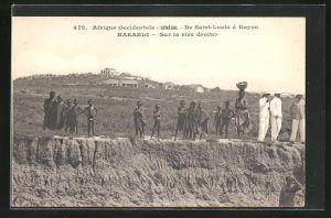 AK Kaeaedi, Sur la rive droite