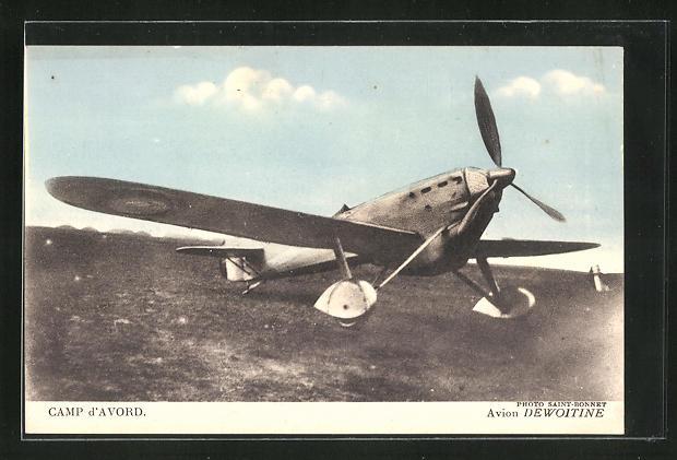 AK Camp d`Avord, Avion Dewoitine