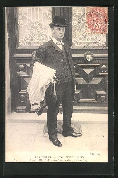 AK Henri Hurst, entraineur public à Chantilly, Pferdesport