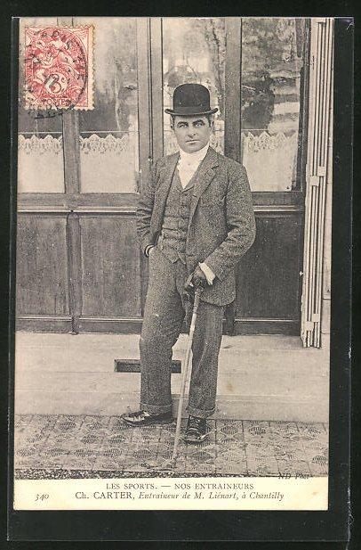 AK Chantilly, Trainer im Pferdesport Ch. Carter
