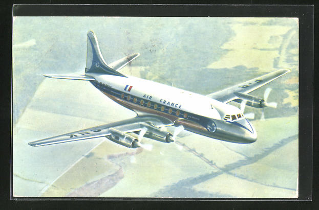 AK Air France, Vickers Viscount
