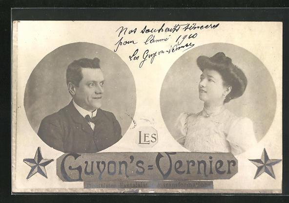AK Les Guyon`s-Vernier, Duettistes Fantaisistes è transformations, Varieté