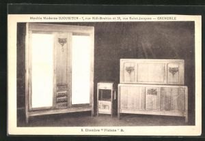 AK Grenoble, Meuble Moderne Djoukitsch, 7, rue Sidi-Brahim et 32, Chambre Platane B