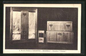AK Grenoble, Meuble Moderne Djoukitsch, Chambre Platane