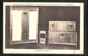 AK Grenoble, Meuble Moderne Djoukitsch, 7, rue Sidi-Brahim et 32, Chambre Platane