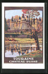 Künstler-AK Chalet de la Loire: Touraine Chateau d`Ussé, Tourismus