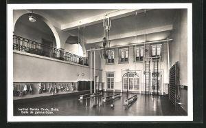 AK Bulle, Institut Sainte Croix, Salle de gymnastique, Turnhalle