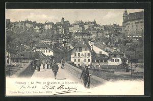 AK Fribourg, Le Pont de St -Jean et la Neuveville