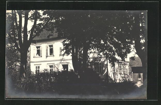 Foto-AK Deutsch Kaltenbrunn, Wohnhaus im Ort