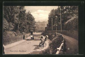 AK Hertford, Port Hill, Strassenpartie