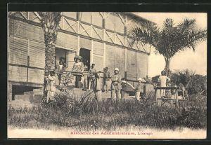 AK Loango, Résidence des Administrateurs