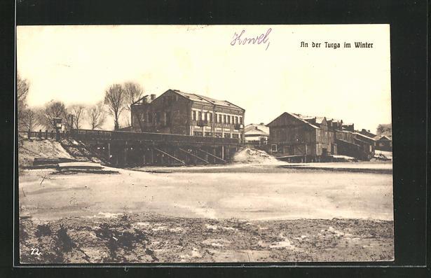 AK Kowel, An der Turga im Winter