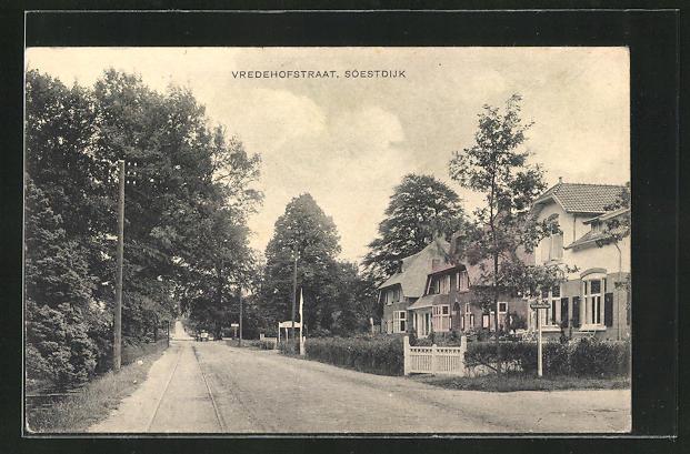AK Soest, Blick in die Vredehofstraat