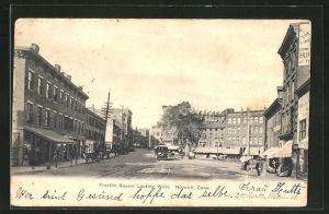 AK Nowich, CT, Franklin Square Looking West