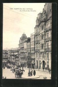 AK Vigo, Puerta del Sol y Entrada a la Calle del Principe