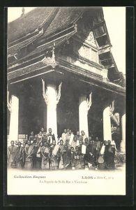 AK Vientiane, La Pagode de Si-Sa-Ket