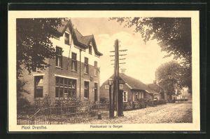 AK Mooi Drenthe, Postkantoor te Borger