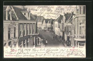 AK Delfzijl, Marktstraat, Hotel Delfzijl