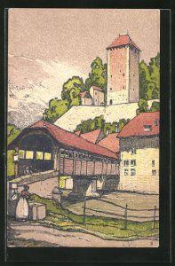 AK Fribourg, Le Pont de Berne