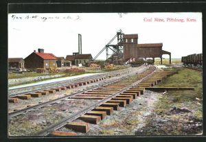 AK Pittsburgh, KS, Coal Mine