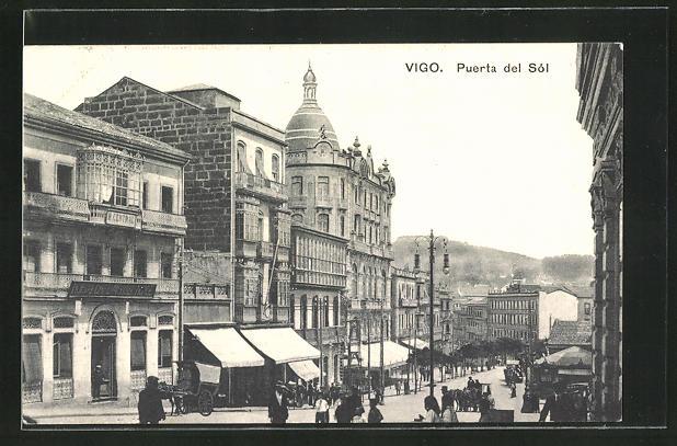 AK Vigo, Puerta del Sol, Strassenpartie 0