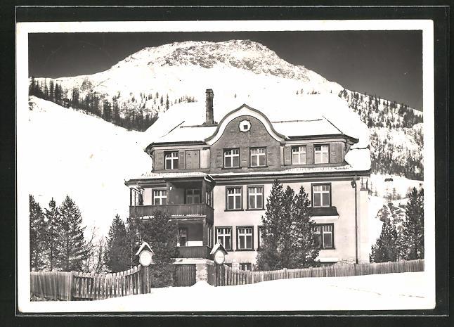 AK Celerina, Kinderheim der Stadt Zürich 0