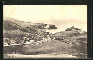 AK Lulworth Cove, Ortsansicht aus der Vogelschau