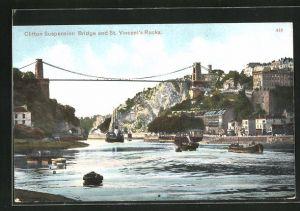 AK Clifton, Suspension Bridge and St. Vincent's Rocks